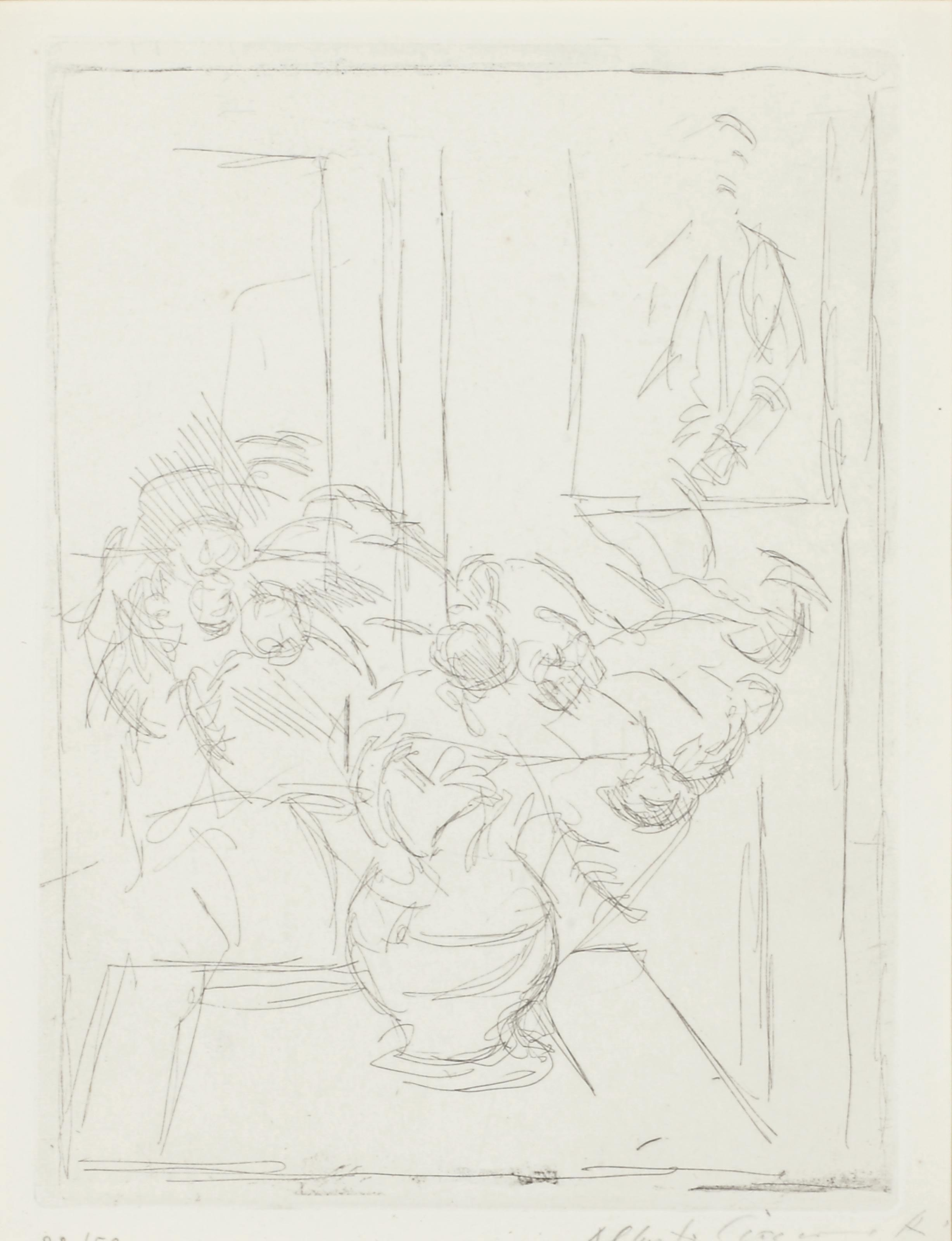 ALBERTO GIACOMETTI (1901-1966) , Bouquet II (Lust 60