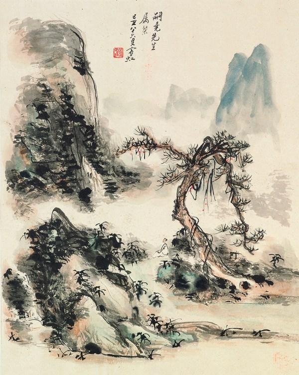 Qi Baishi 1863-1957 Zhang Daqian 1899-1983 Huang