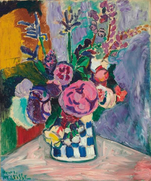 Henri Matisse 1869-1954 Les Pivoines Christie'