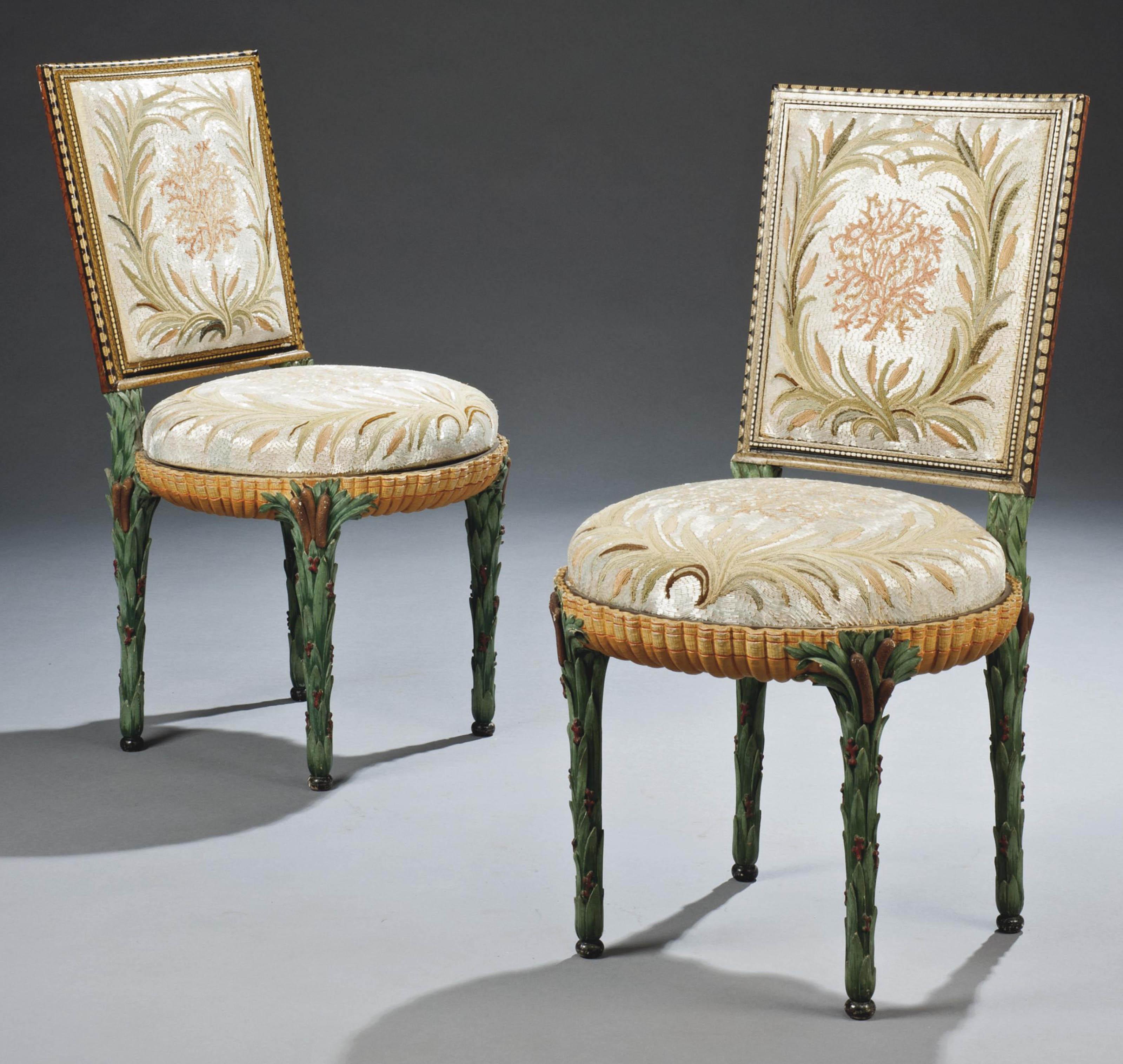 chaises de style louis xvi dites