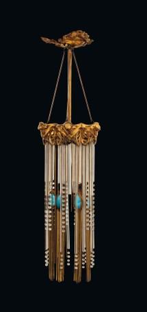 Hector Guimard 1867-1942 Art Nouveau Ceiling Light