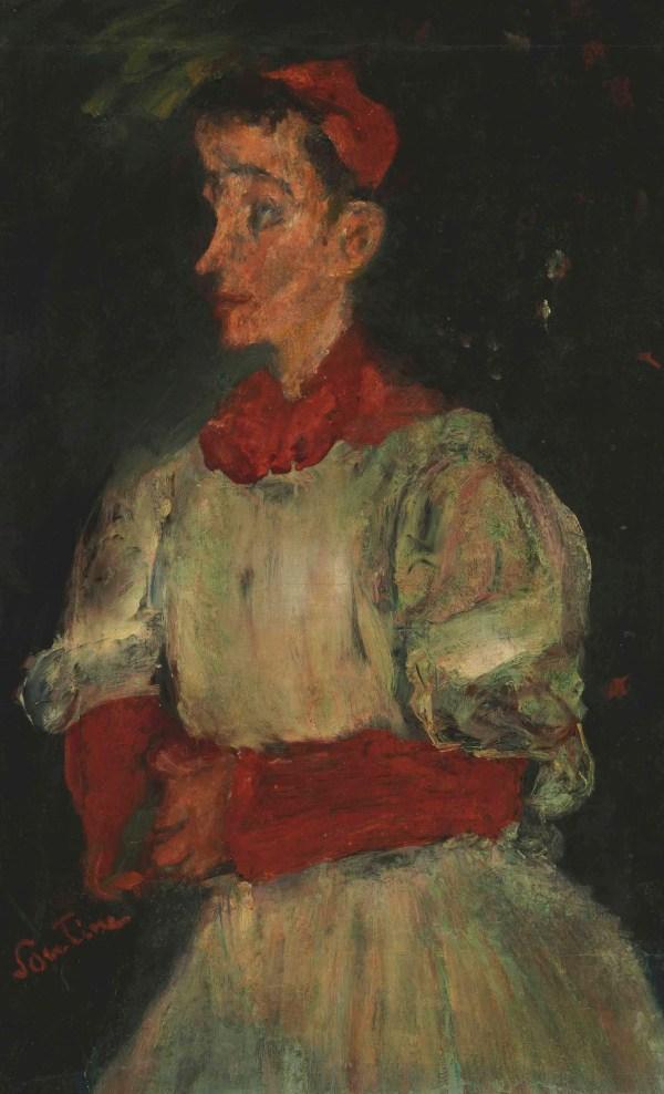 Chaim Soutine 1893-1943 L'enfant De Choeur Christie'