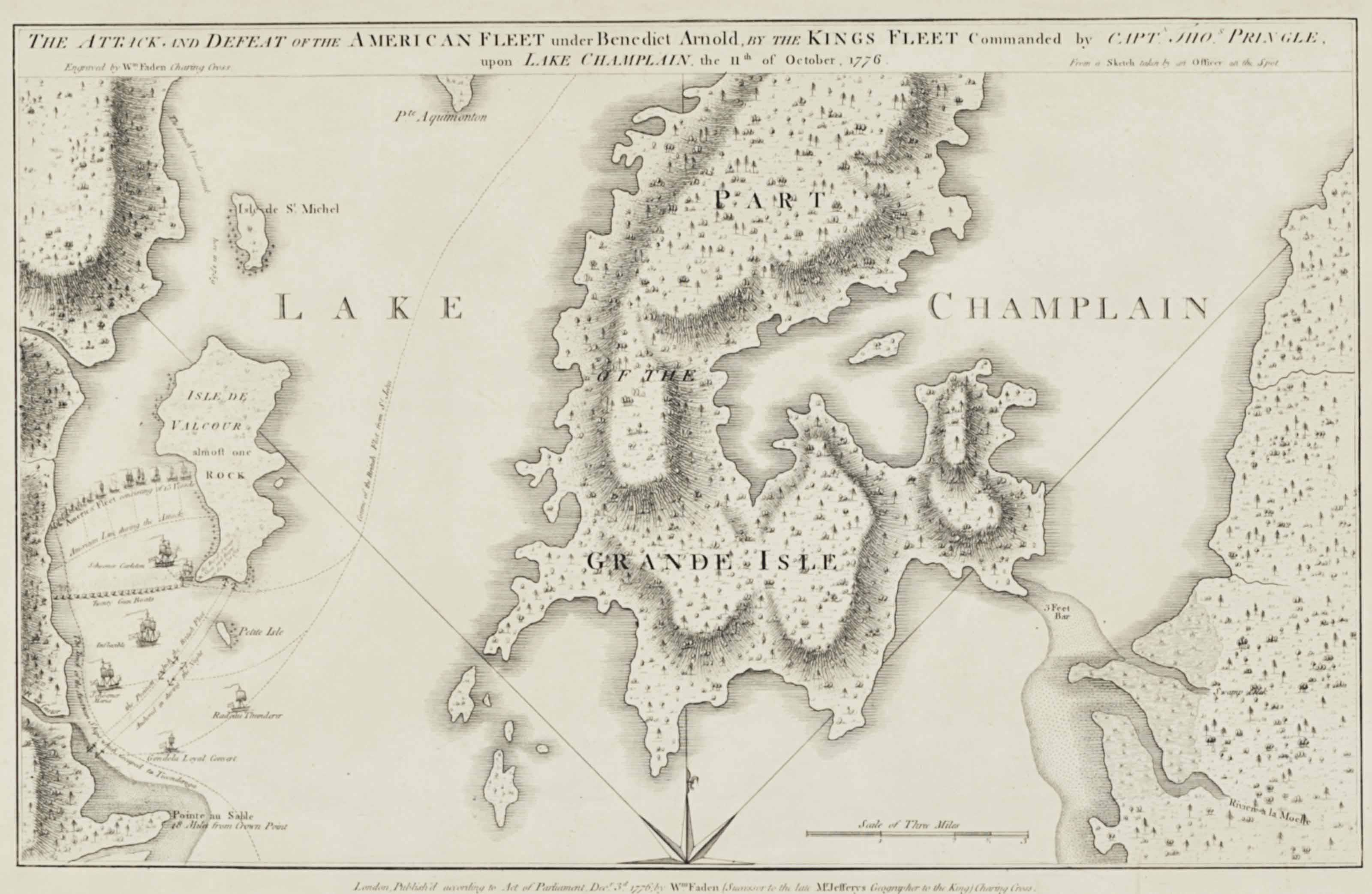 Revolutionary War A Group Of 3 Revolutionary War Maps