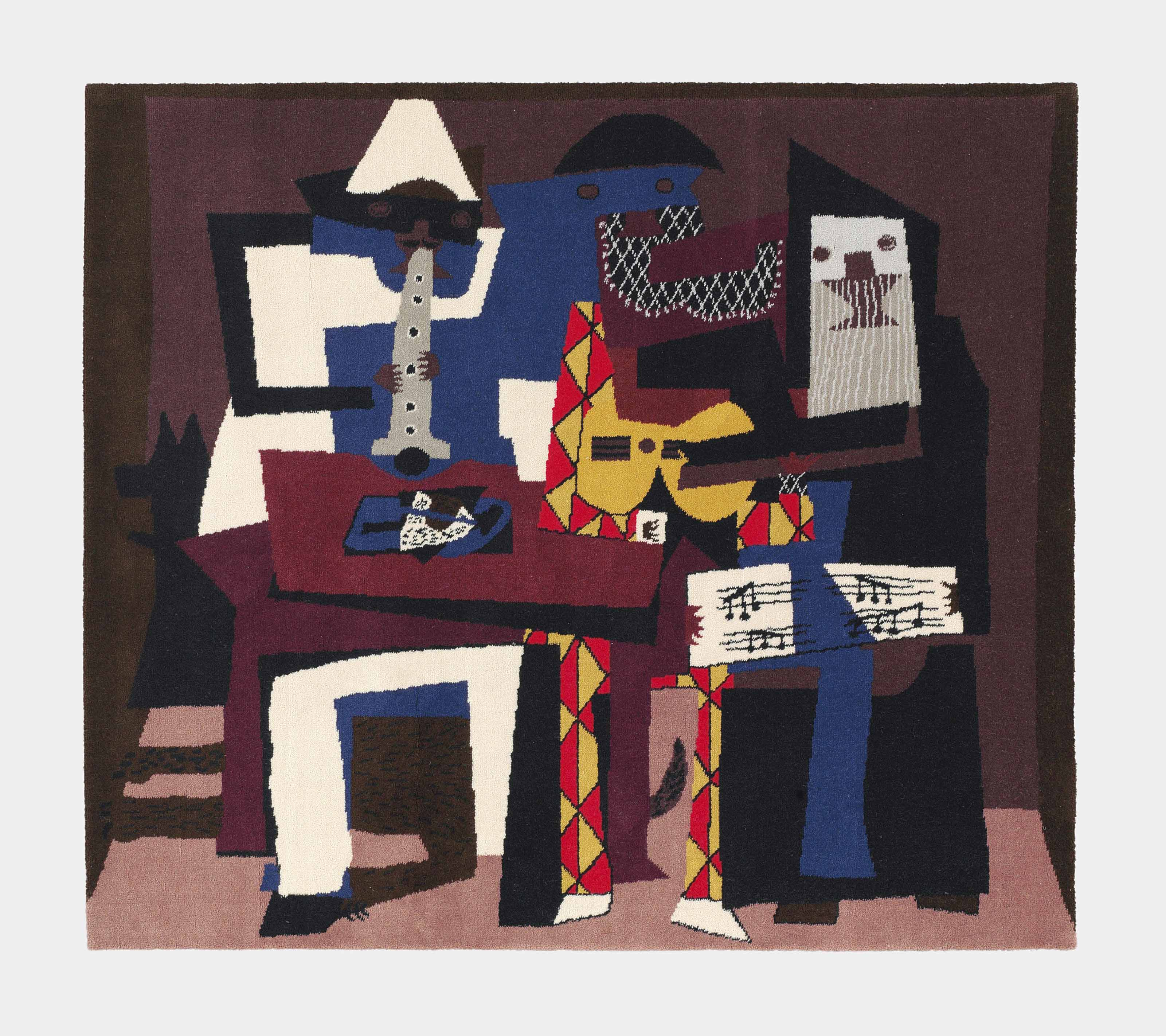 After Pablo Picasso Three Musicians