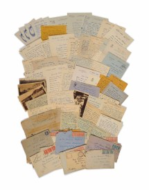 Maurice Maeterlinck 1862-1949 .140 Lettres Autographes