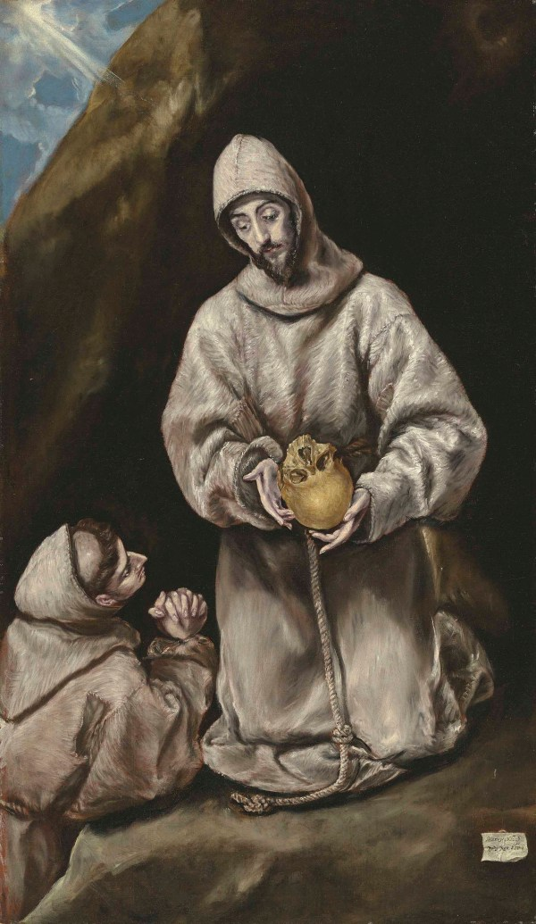 El Greco' Saint Francis And Brother Leo In Meditation
