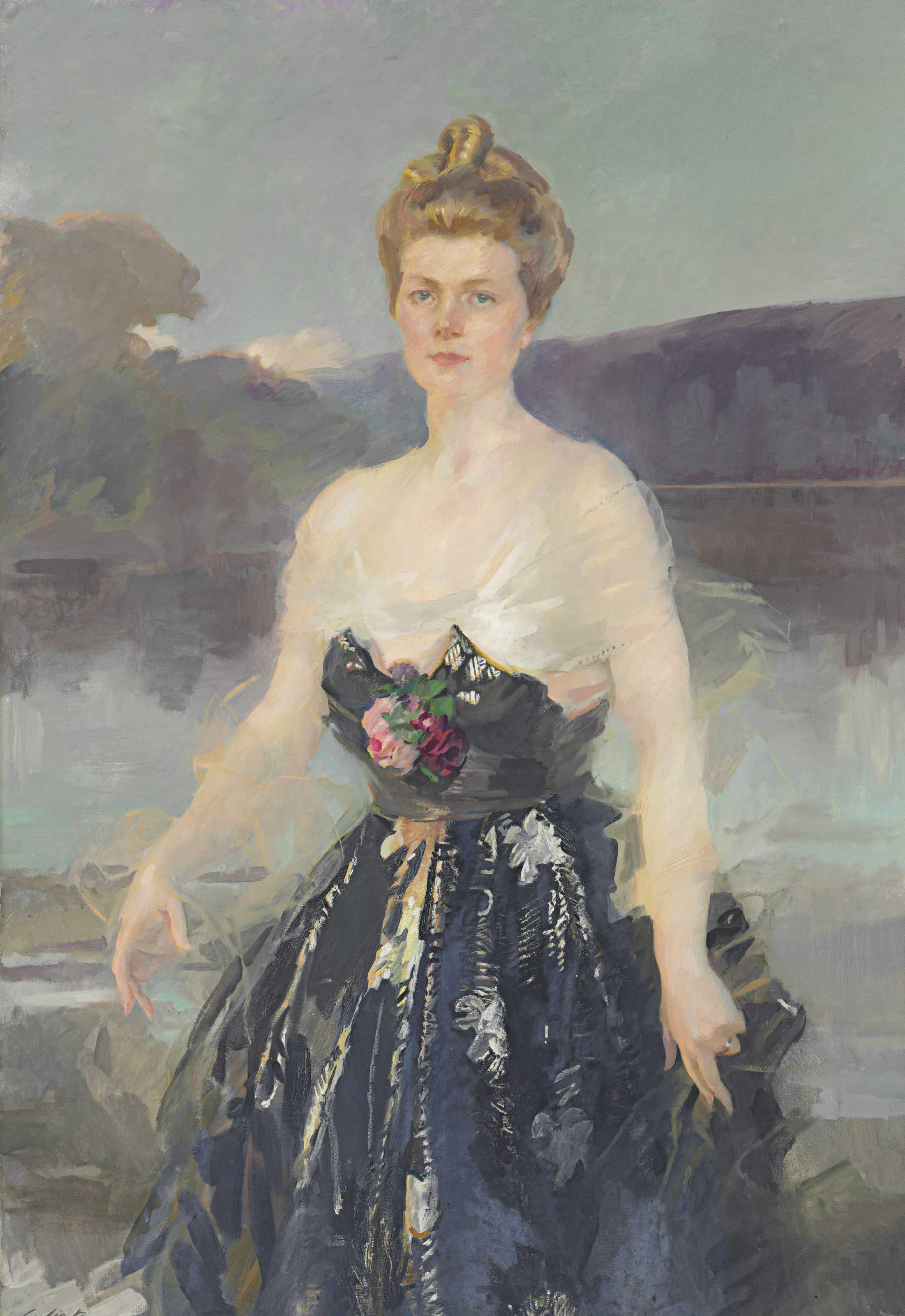 Cecilia Beaux 1855-1942 . Albert Beveridge Catherine Eddy; Lady Primrose Christie