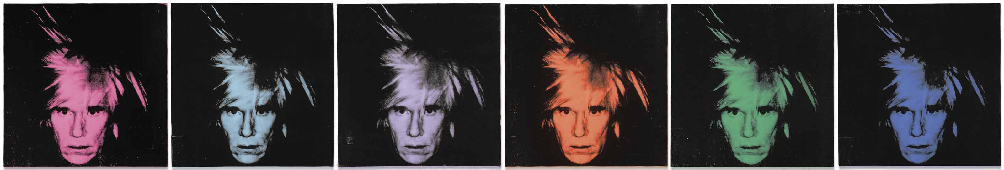 A Moment Of Sudden Revelation Andy Warhol S Six Self Portraits 1986 Christie S
