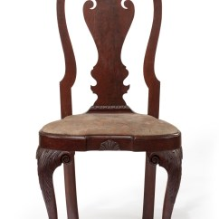 Queen Ann Chairs Folding Chair Hinge Point The Powel Griffitts Family Anne Christie S Carved Walnut Compass Seat Side Philadelphia