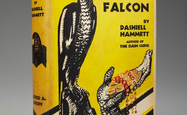 The Holy Grail Of Detective Fiction The Maltese Falcon