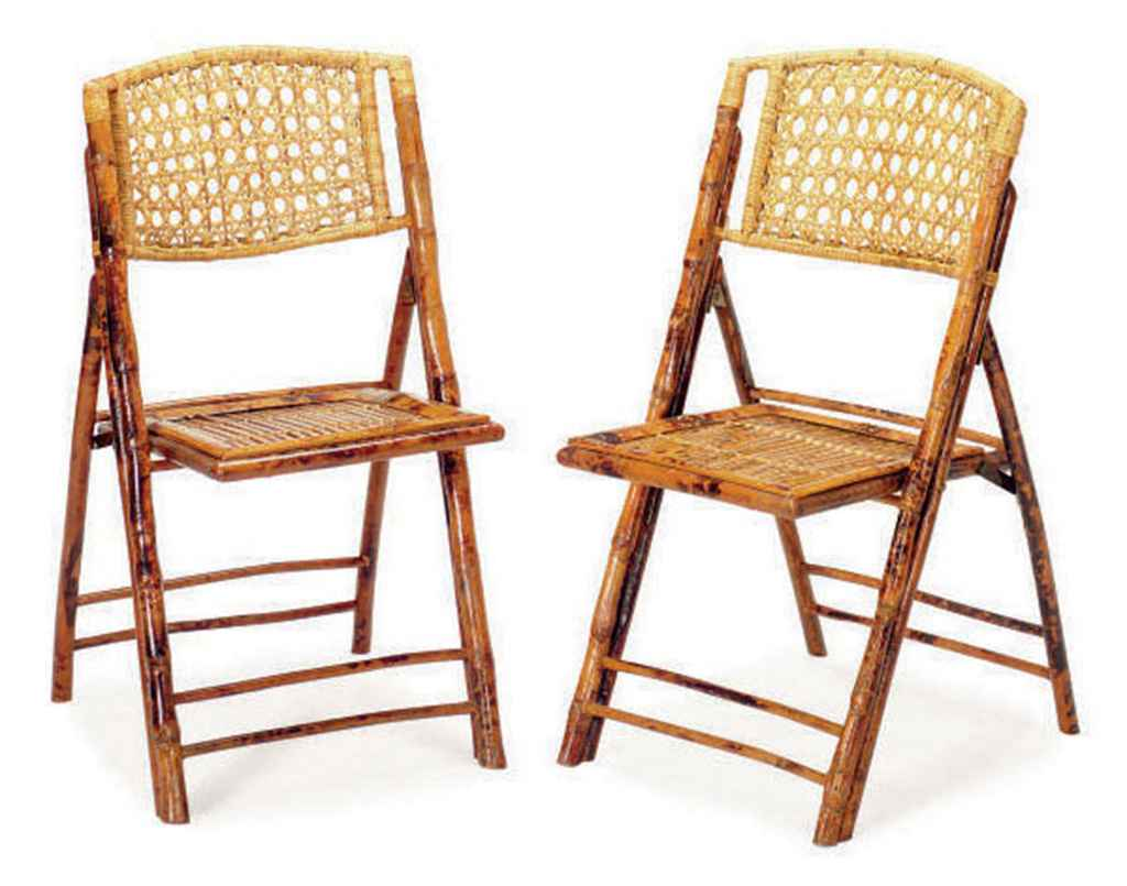 where can i buy cane for chairs swivel gaming chair with speakers a set of eight bamboo and rattan folding late