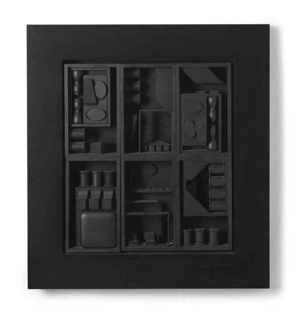 Louise Nevelson 1899-1988 Black Excursion 3 Christie'