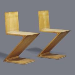 Gerrit Thomas Rietveld Chair Hello Kitty Chairs 1888 1964 Pair Of 39zig Zag
