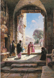 Entrance to the Temple Mount in Jerusalem