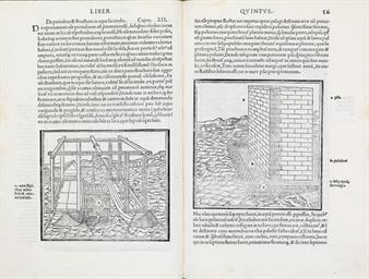 VITRUVIUS POLLIO, Marcus. De architectura . Edited by Fra