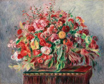PierreAuguste Renoir 18411919  Corbeille de fleurs