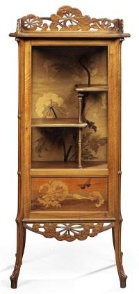 EMILE GALL (1846-1904) | OMBELLES VITRINE, CIRCA 1900 ...