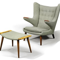 Papa Bear Chair Folding Kinematic Diagram A Hans Wegner 39papa 39 Lounge And Ottoman