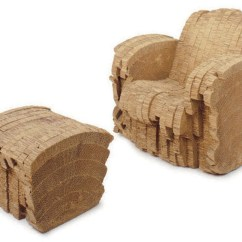 Frank Gehry Cardboard Chair Stickley Dining Plans A 39sherman 39 Laminated Corrugated And