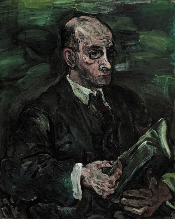 Oskar Kokoschka 1886-1980 Hermann Schwarzwald Ii 1910s Paintings Christie'