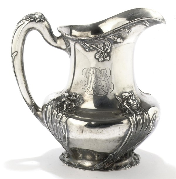 American Silver Water Pitcher Mark Of Tiffany &