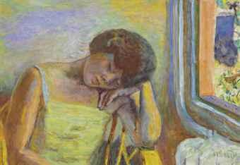 Pierre Bonnard 18671947  Femme endormie  20th Century