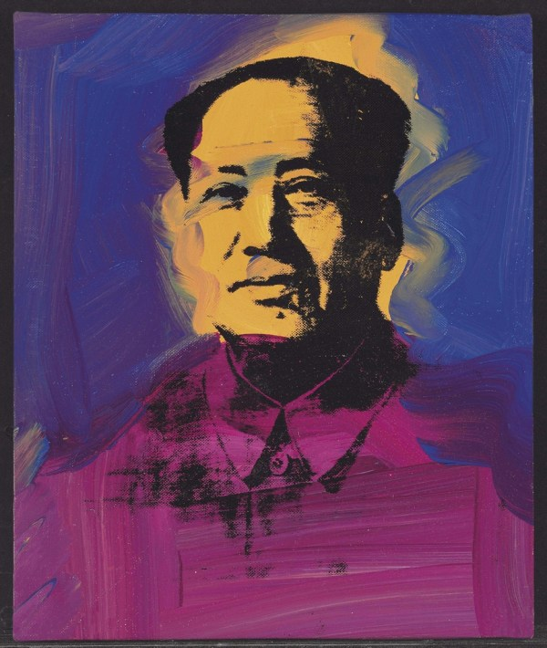 Andy Warhol 1928-1987 Mao Post-war & Contemporary
