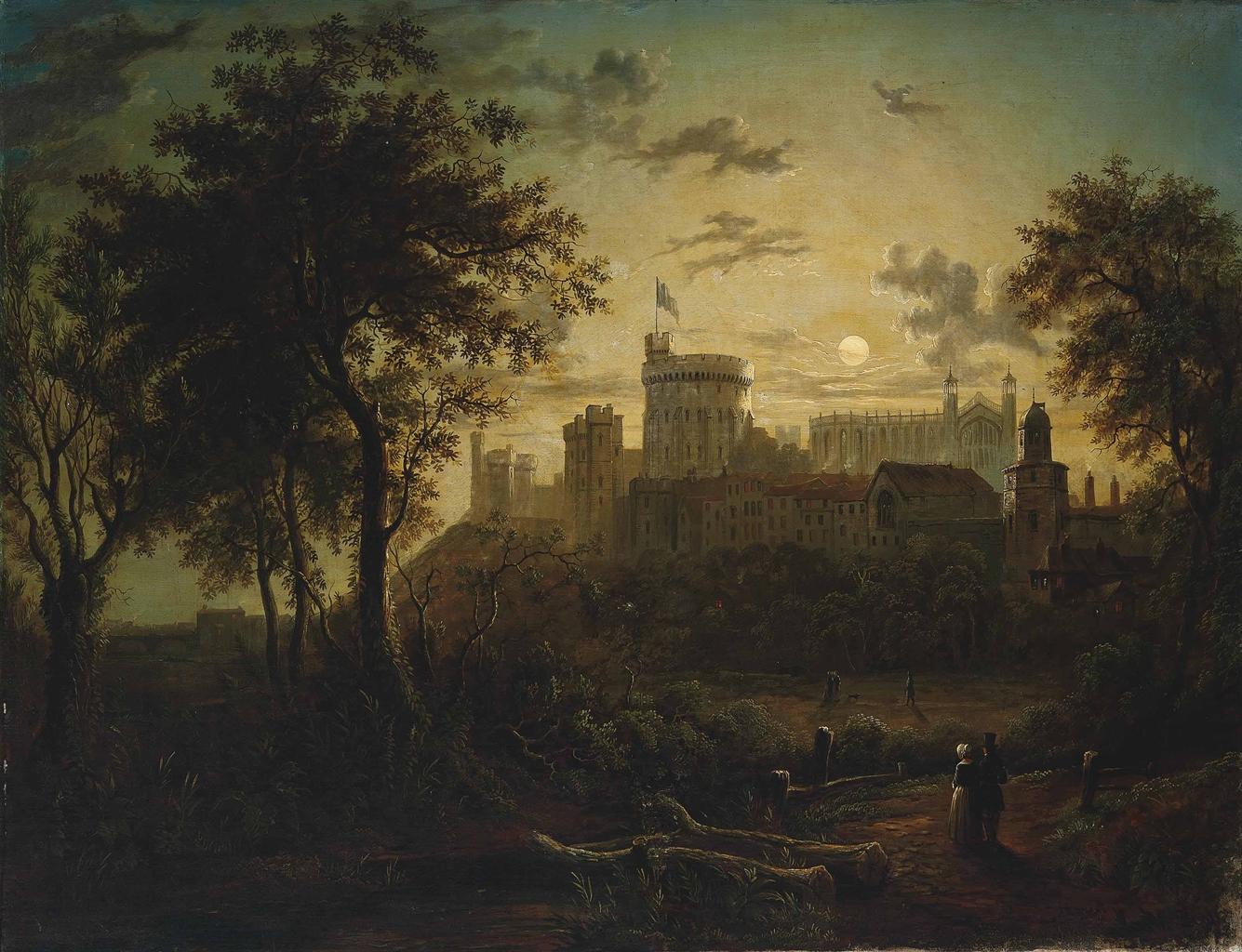 Sebastian Pether 17901844  Figures before Windsor