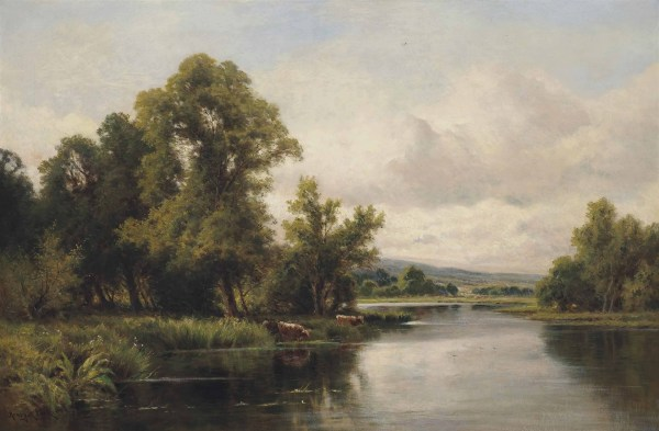 Henry Hillier Parker 1858-1930 Tranquil Day