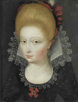 17th century bobbin lace collar