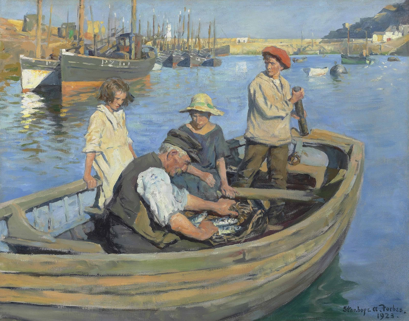 Stanhope Alexander Forbes RA 18571947  The
