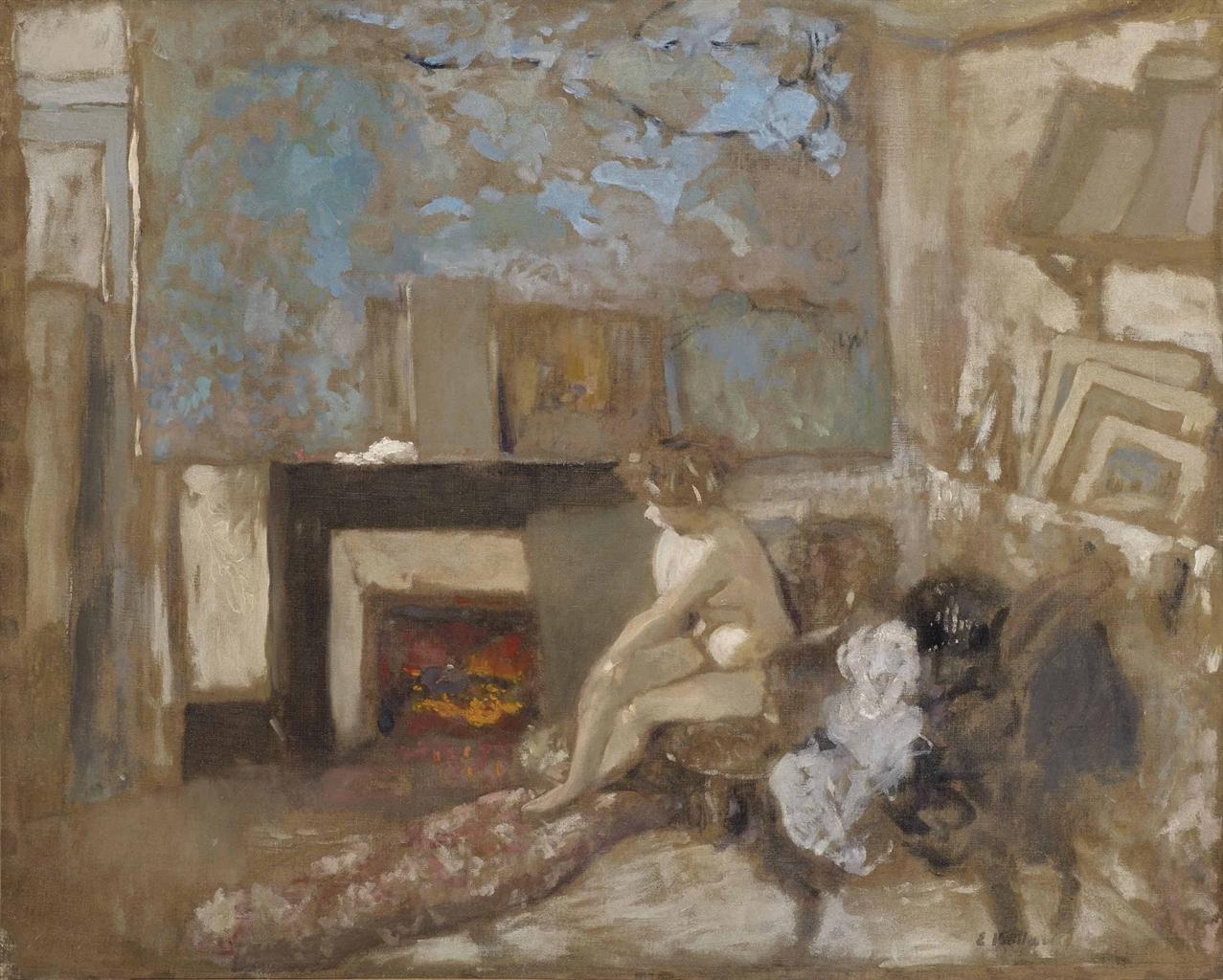 Edouard Vuillard 1868 1940 Nu Dans Lappartement De La