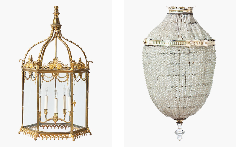 collecting guide chandeliers and wall lights