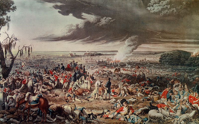 Tales From The Battle Of Waterloo Christies
