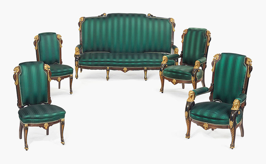sofa wesley barrell black velvet cover period style sofas   brokeasshome.com