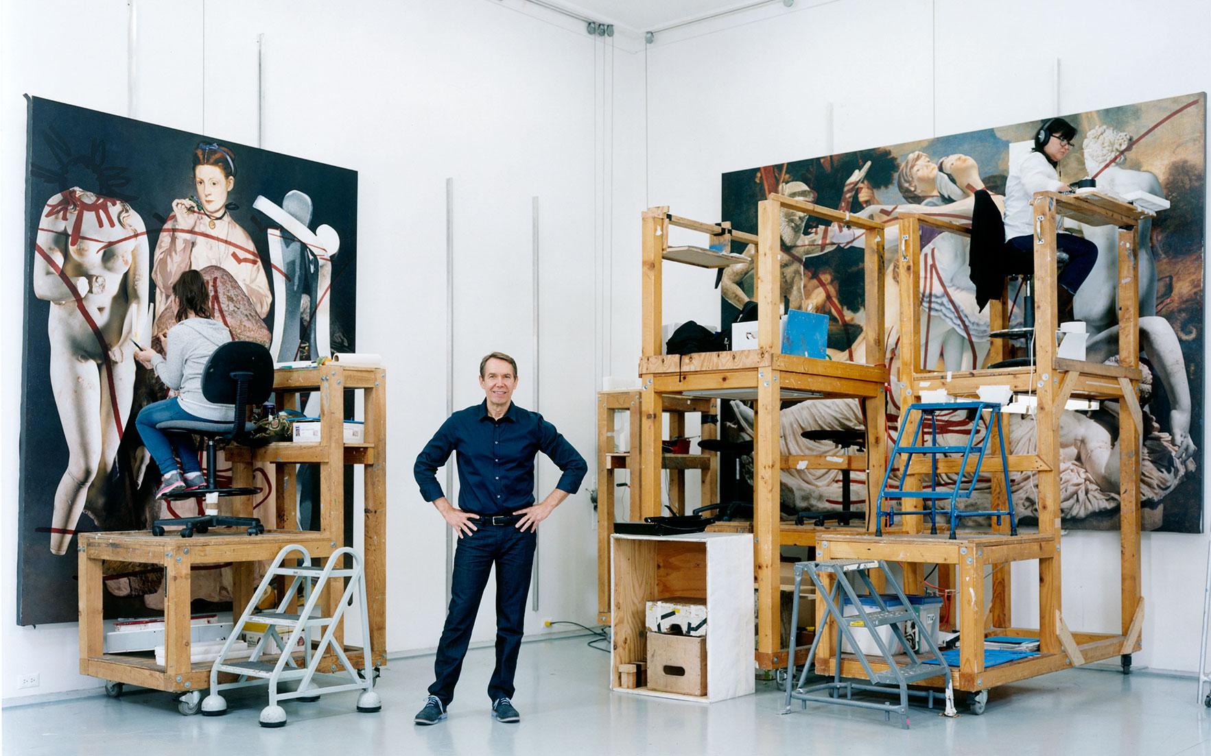 Interview Jeff Koons Christie S