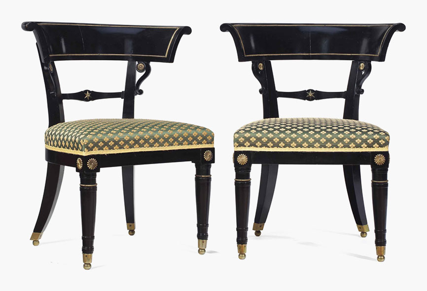 antique windsor chair identification office lower back support a z of furniture terminology to know when buying at auction pair regency gilt metal mounted ebonised and fruitwood side chairs circa