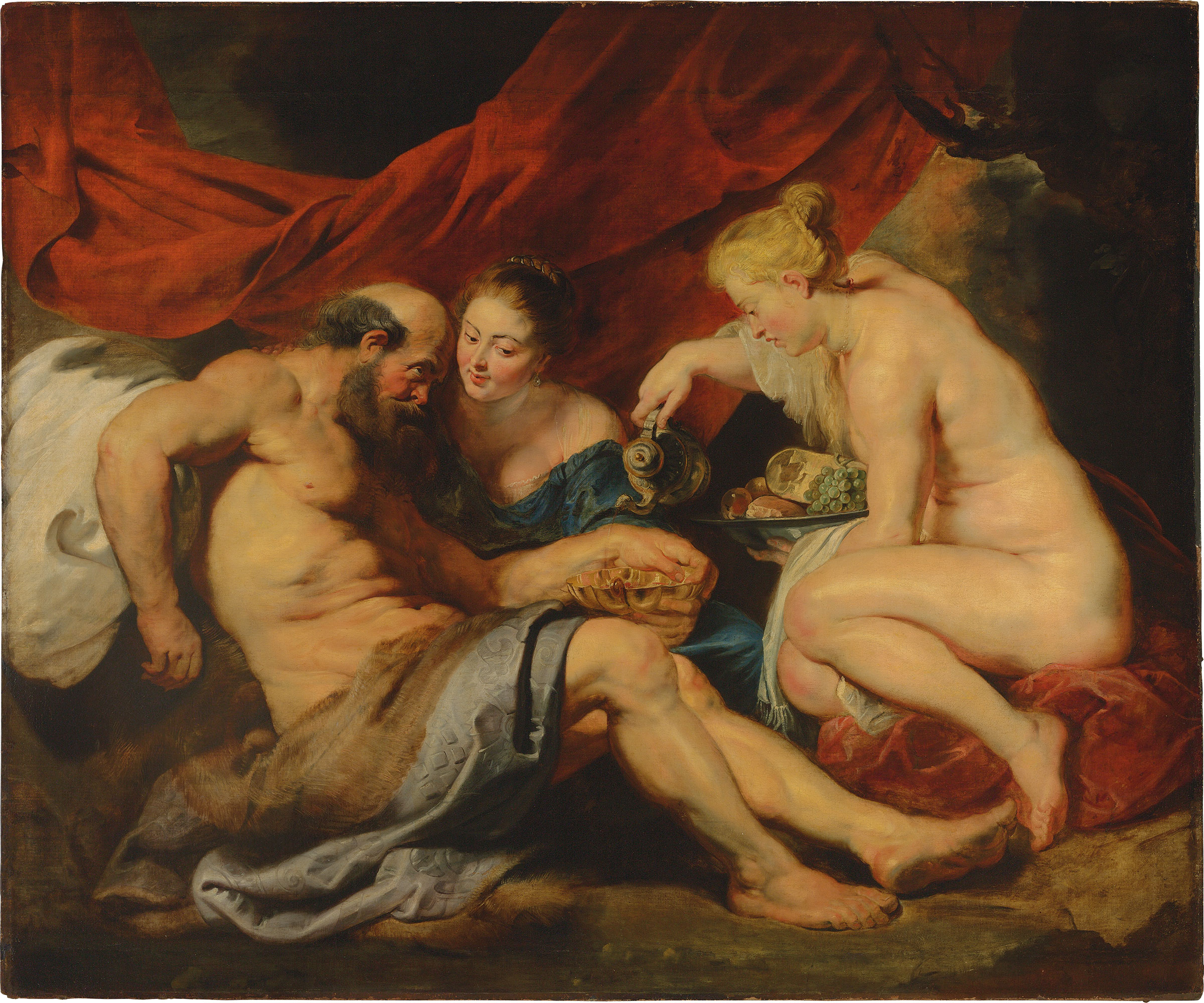 Image result for lot and his daughters rubens