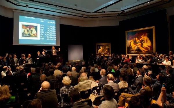 Christie's Art Auction Results