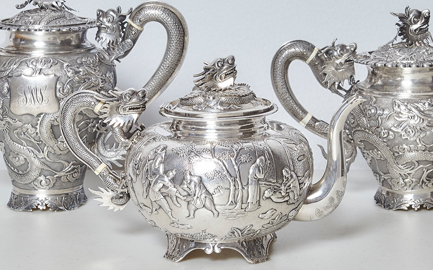 chinese export silver a