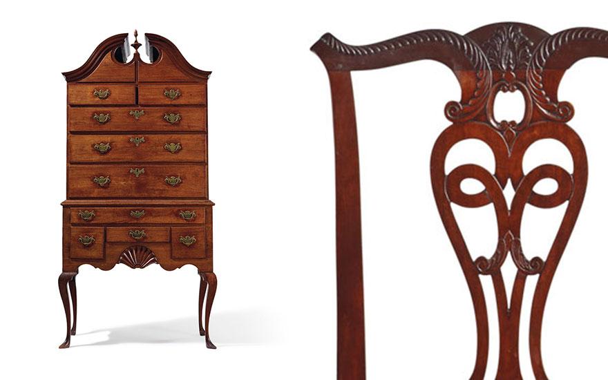 key periods of american furniture
