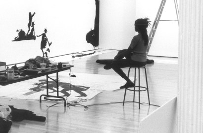 Artist Kara Walker and Her Cut-Paper Silhouette Art