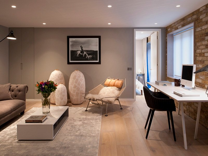 Thomas Griem Of TG Studio Designed This Bespoke Home Office For A Client  Who Wanted