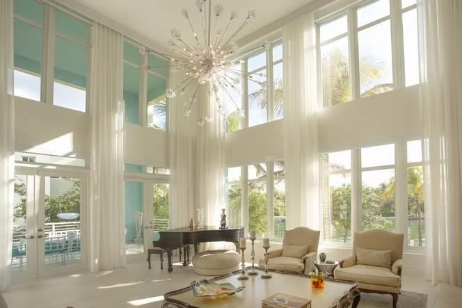 5 Bedrooms, 5,349 sq. ft.Modern waterfront villa at Aqua Allison Island