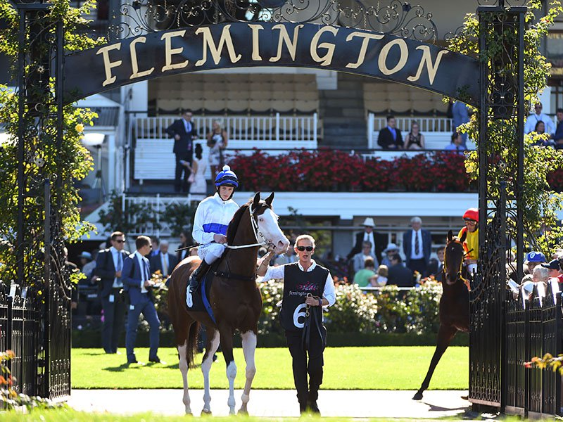 "Set on over 300 acres of river flats, Flemington is one of the longest racetracks in Australia. The track is famous for the ""Straight Six"" - the six-furlong length of straight track that makes it one of the most challenging tracks in the world. Photograph: Getty Images"