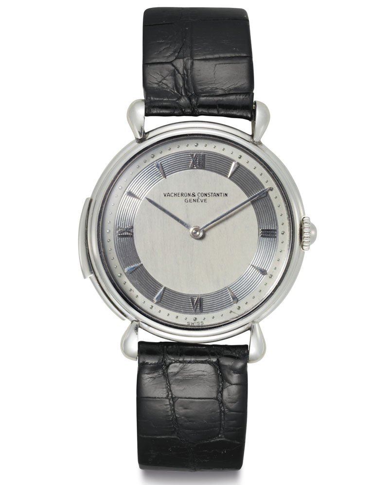 Vacheron Constantin: Reference 4261 (1951)An extremely fine and rare platinum minute-repeating wristwatch, which sold at Christie's Rare Watches and Exceptional Complications sale for $605,000.