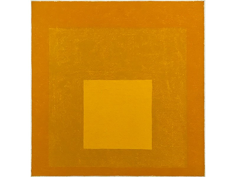 Homage to the Square by Josef Albers, 1976, oil on masonite. Exhibitor: ARCHEUS / POST-MODERN, London, UK