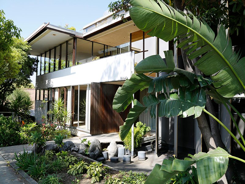 Designed by renowned modernist architect Richard Neutra, the Neutra VDL Studio and Residences in Silver Lake have hosted myriad architects who worked there as apprentices. Photograph: Alamy