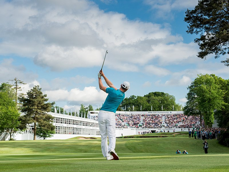 The BMW PGA Championship takes place at the renowned Wentworth Club. Photograph: Adam Jacobs