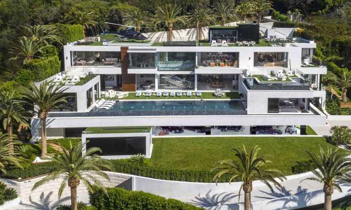 Billionaire in Los Angeles, California